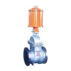 PZ641H气动钢制排渣闸阀