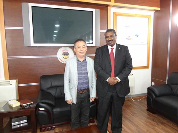 上海科科董事长与苏丹国家石油部部长签订战略合作伙伴协议