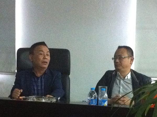 上海科科阀门集团管理变革咨询项目启动大会现成照片1