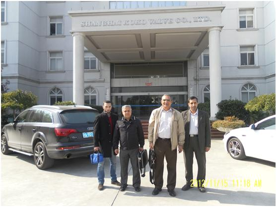 GRAND SANAT公司来上海科科考察交流1