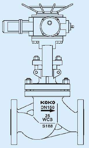 电动截止阀结构图