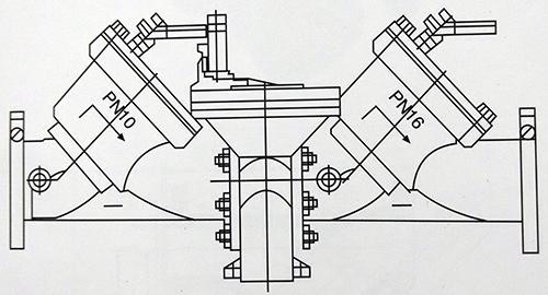 防污隔断阀结构图