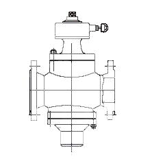 自力式流量控制阀结构示意图