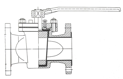 旋塞阀结构图