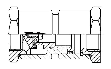 y13x固定比例式减压阀结构示意图