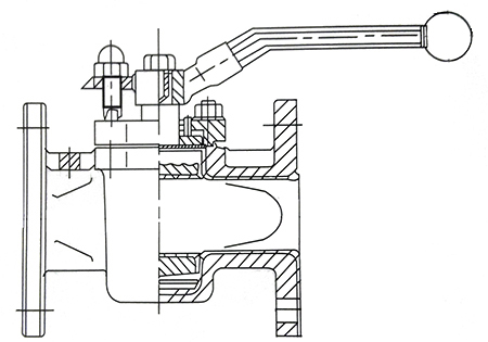 x43f旋塞阀结构图