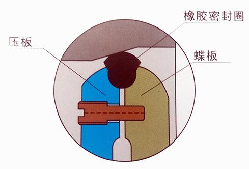 扇形弹性橡胶密封圈