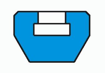 锻钢截止阀阀瓣形式之普通锥面密封阀瓣