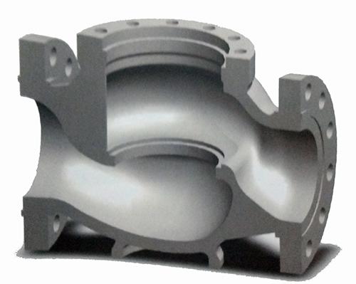 侧装给水泵汽轮机切换阀的阀体